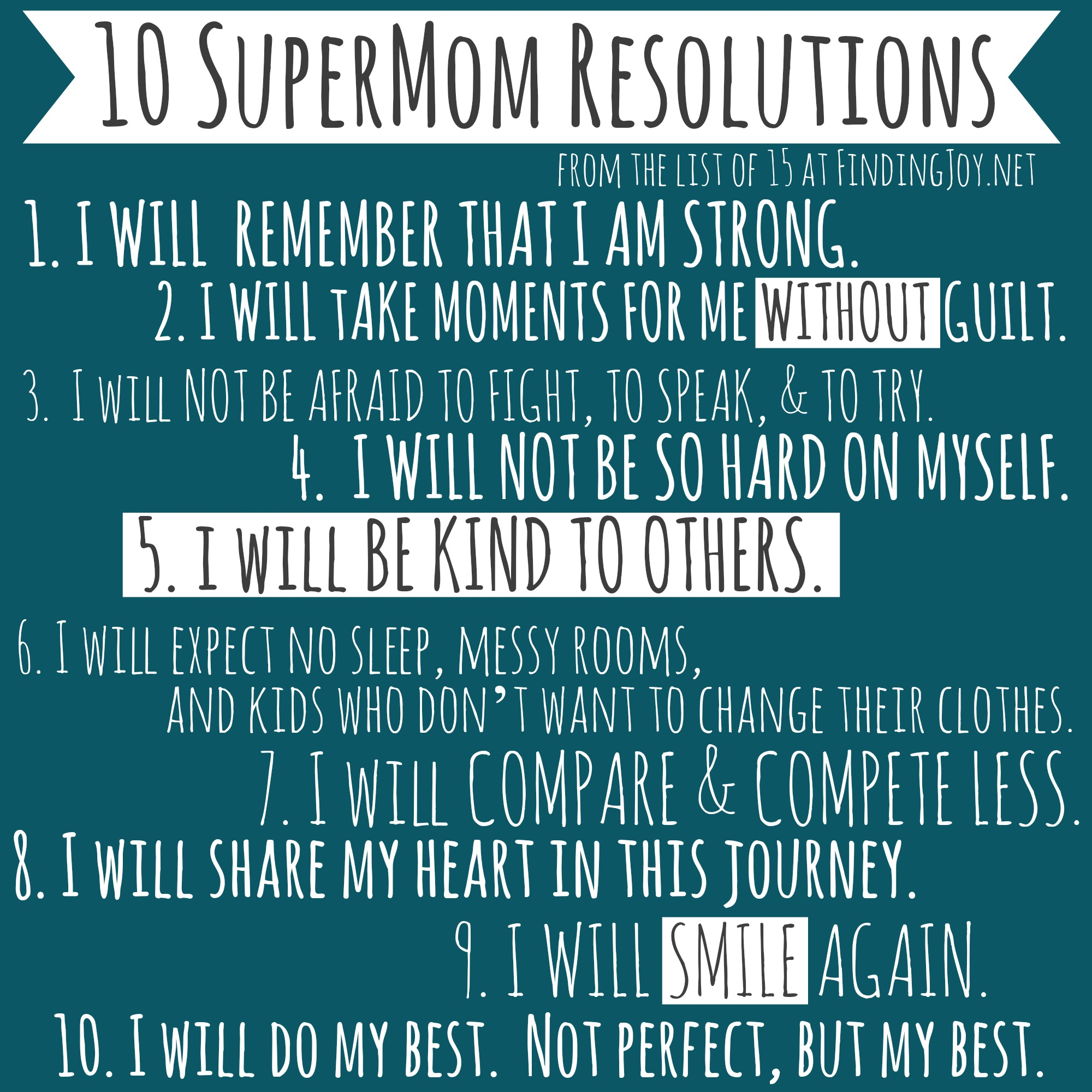 10SuperMomResolutions