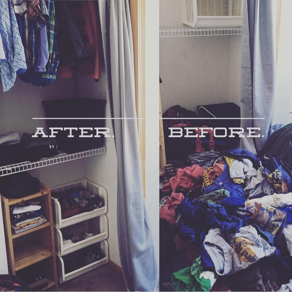 tidyingbeforeafter